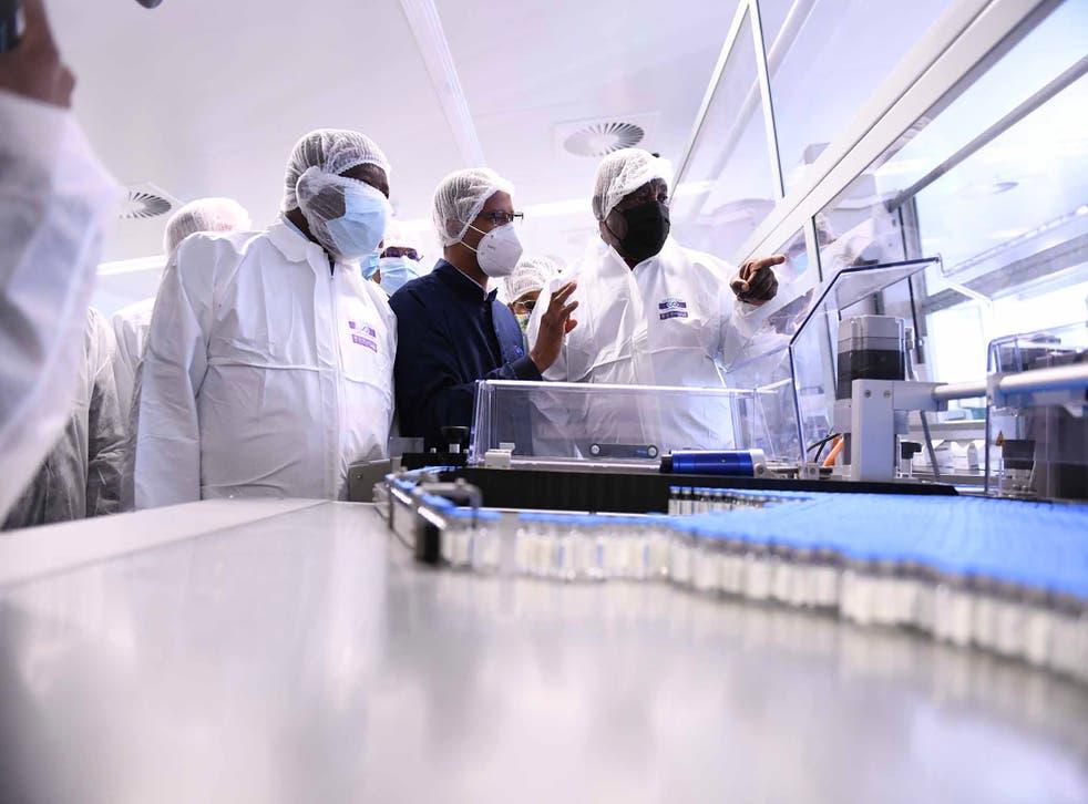 Virus Outbreak South Africa Vaccines