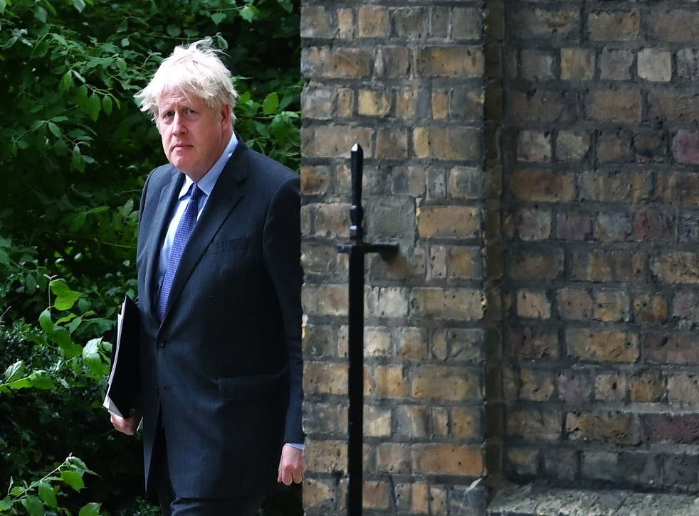 pBoris Johnson is looking ahead to a life outside the EU for the UK/p