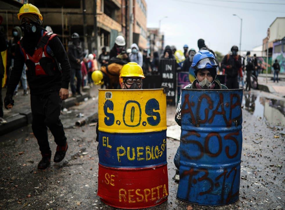 COLOMBIA-PROTESTAS