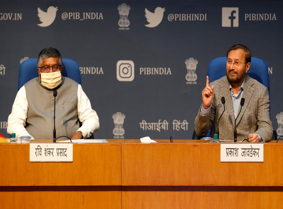 India Twitter Standoff