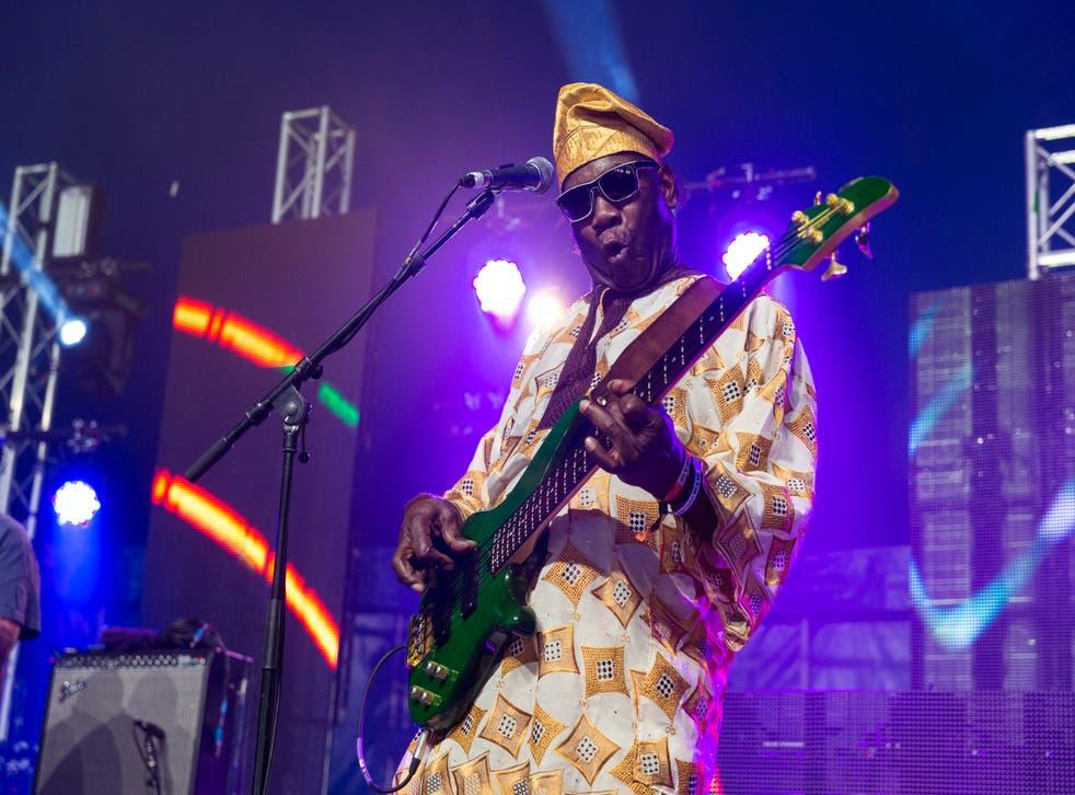 <p>Dennis Bovell, one of the originators of the reggae genre, lovers rock </p>