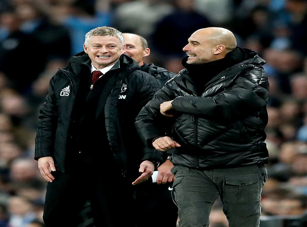 The fixture list has thrown up different degrees of difficulty for Manchester United and Manchester City