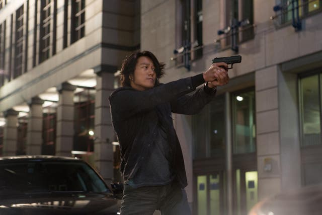<p>He's back: Sung Kang's Han is the cool, stoic heart of the series</p>