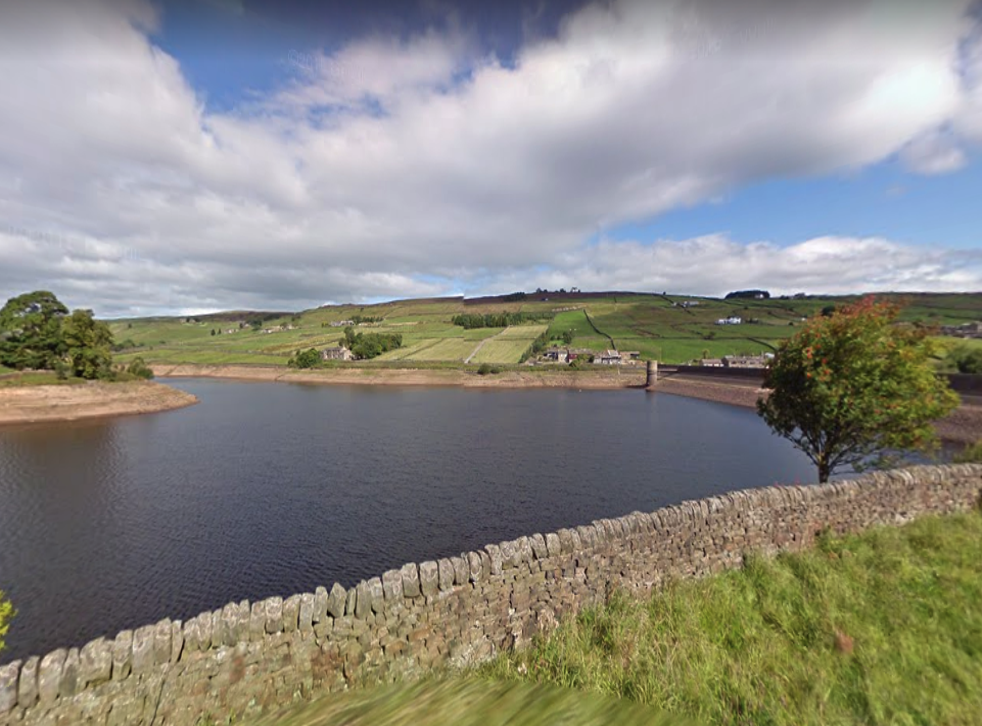 <p>Ponden Reservoir, near Haworth, Bradford, where a 27-year-old man's body was recovered Tuesday evening</p>