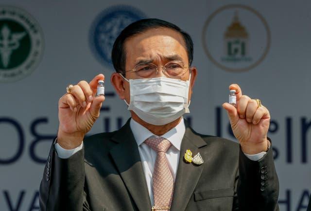 Virus Outbreak Thailand Vaccine