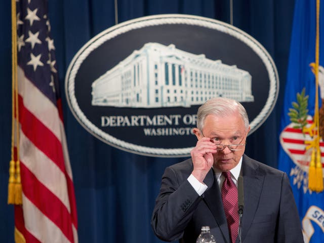 <p>Jeff Sessions, Donald Trump's first attorney general</p>