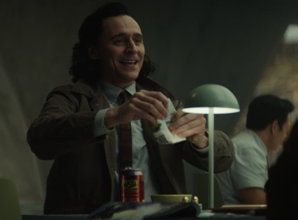 <p>Tom Hiddleston in 'The Variant', the second episode of 'Loki'</p>