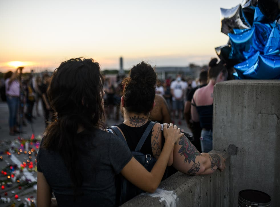 <p>One June 13, a driver accelerated at a group of demonstrators, killing one and injuring three, who were protesting the police killing of Winston Smith, a Black man in Minneapolis, earlier in June. </p>