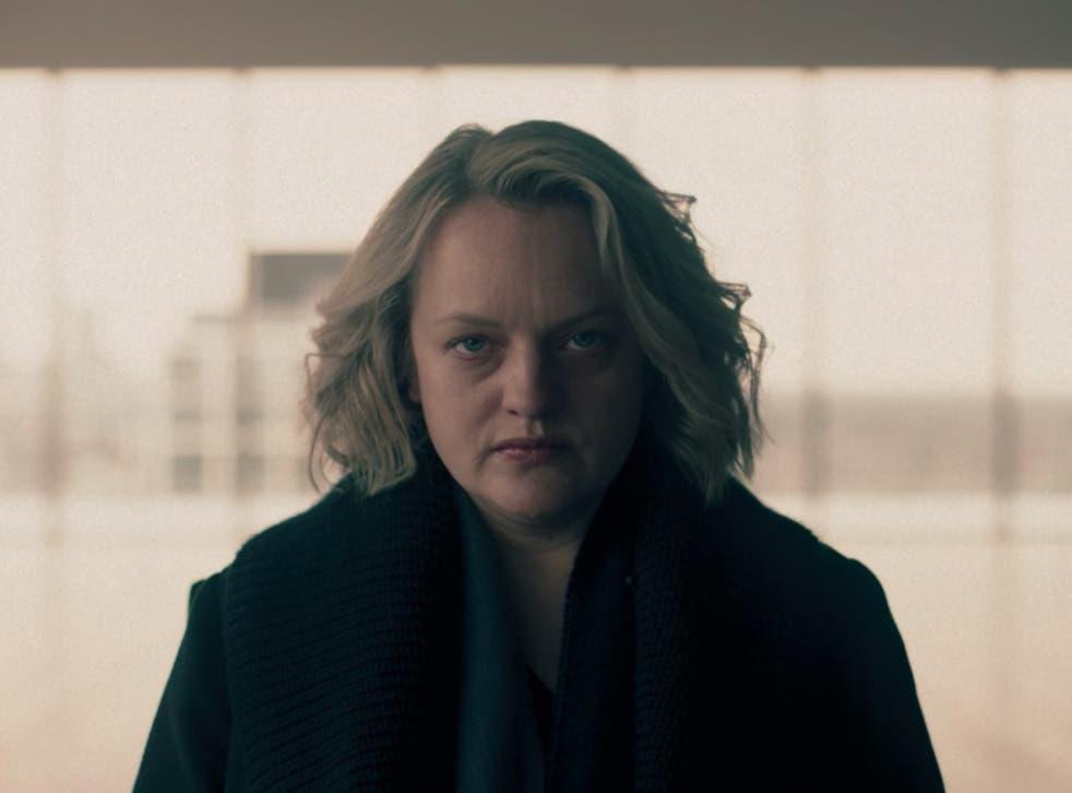 Elisabeth Moss en el episodio 10 de la cuarta temporada de 'The Handmaid's Tale