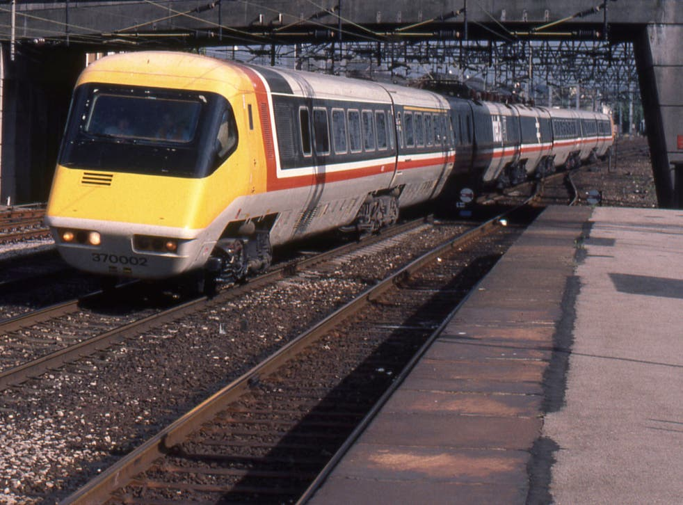 <p>Fast track: Advanced Passenger Train, which has held the London-Glasgow speed record since 1984</p>