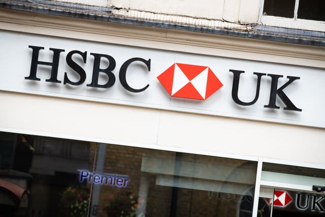 An HSBC UK branch