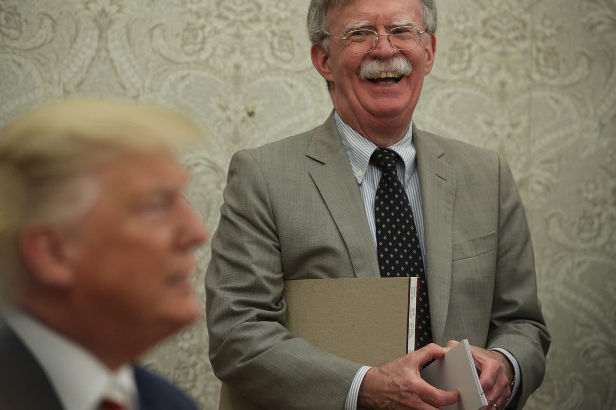 Justice Department drops lawsuit against John Bolton over his anti-Trump book