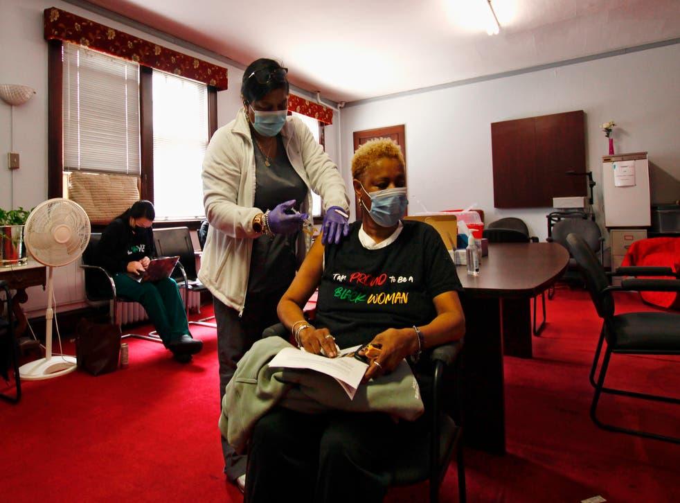 Virus Outbreak Black Churches