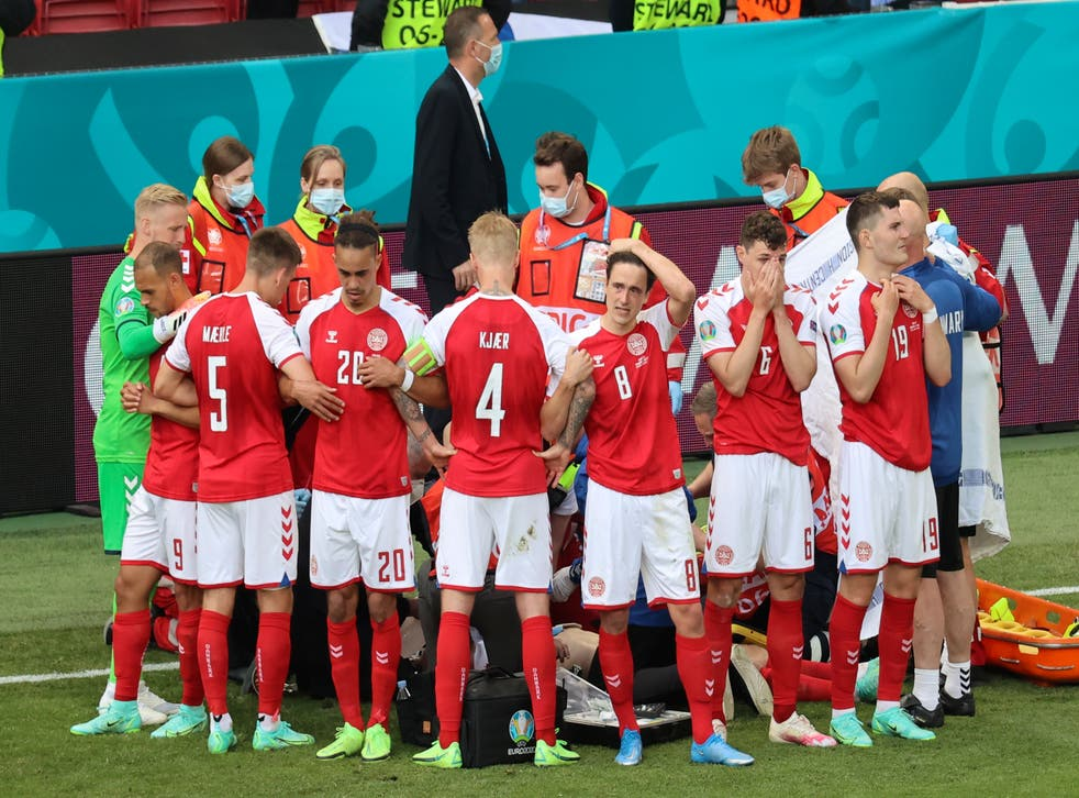 Denmark are back in action for the first time since their harrowing experience at the weekend