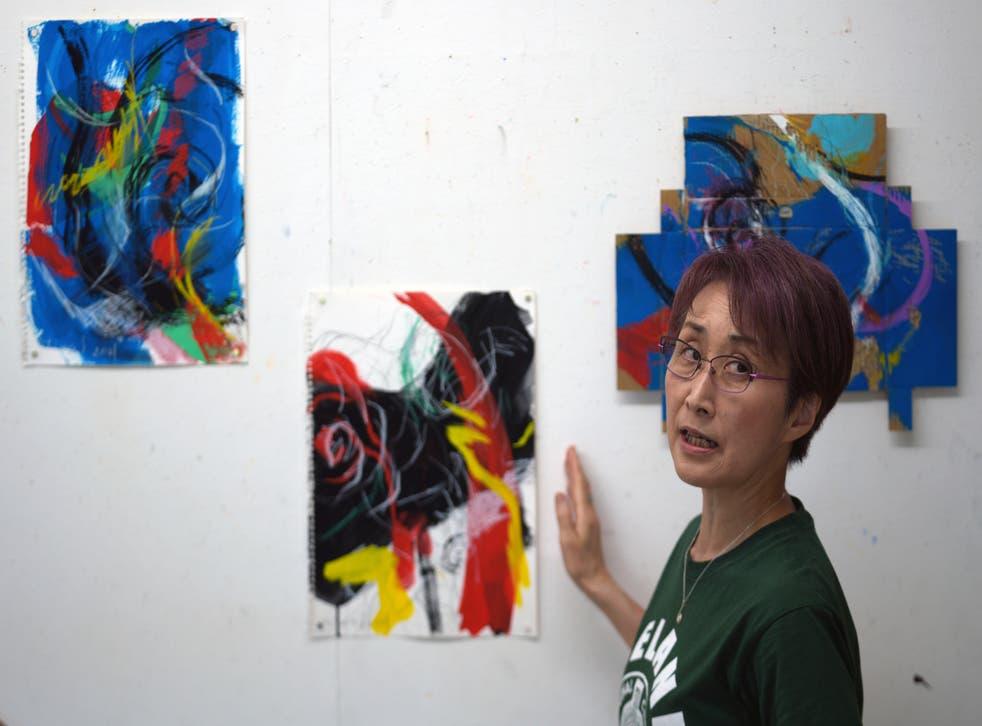 Japan Anti Olympics Art