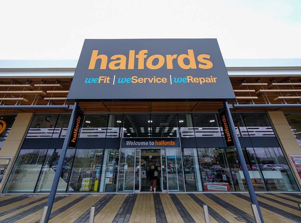 Halfords financials