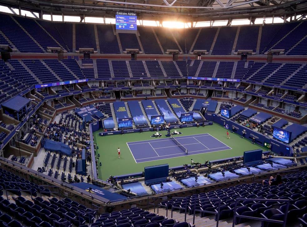 US Open Full Fan Capacity Tennis