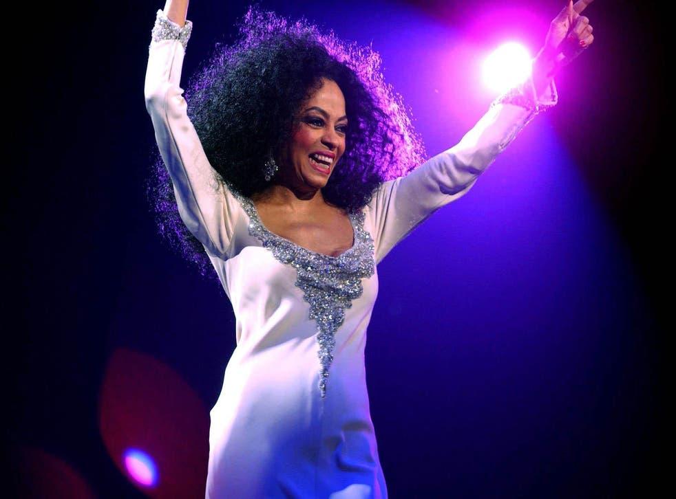 Diana Ross In Concert in 2004