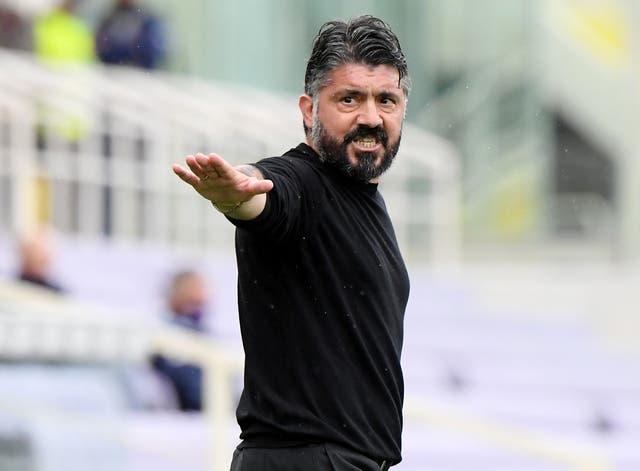 <p>Gennaro Gattuso has departed Fiorentina already</p>
