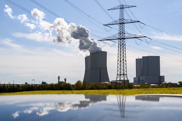 <p>A coal-fired plant is pictured in Lippendorf, Germany. </p>