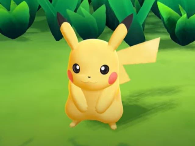 <p>Pikachu</p>
