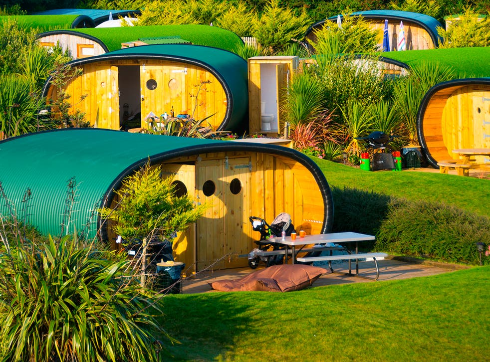 <p>The Atlantic Surf Pods  are all about quirky cave-like glamping and merging indoor living with the outside world</p>