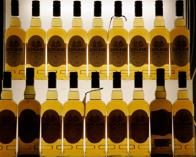 Britain US Whisky