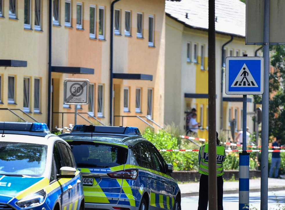 <p>Police are investigating what happened at the house in Espelkamp </p>