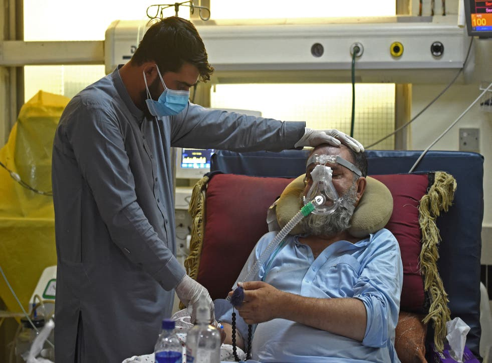 <p>Less than 0.5 per cent of Afghans have been fully vaccinated</p>