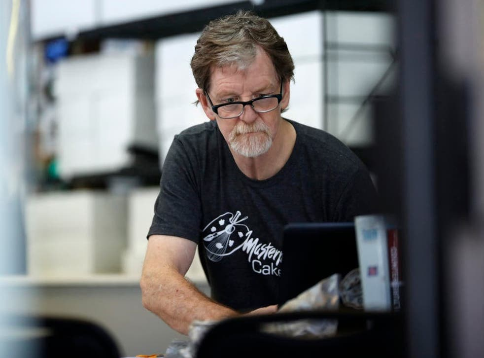 <p>Jack Phillips was fined $500 for being in breach of Colorado's Anti-Discrimination Act</p>