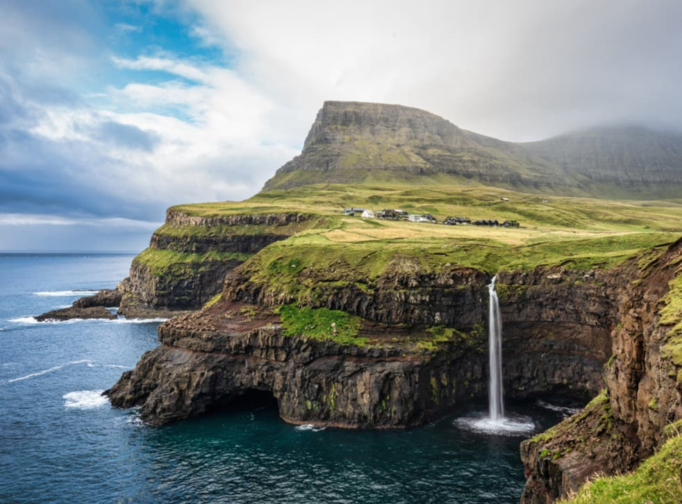 <p>Visit the Mulafossur waterfall on the Faroe Islands this summer</p>