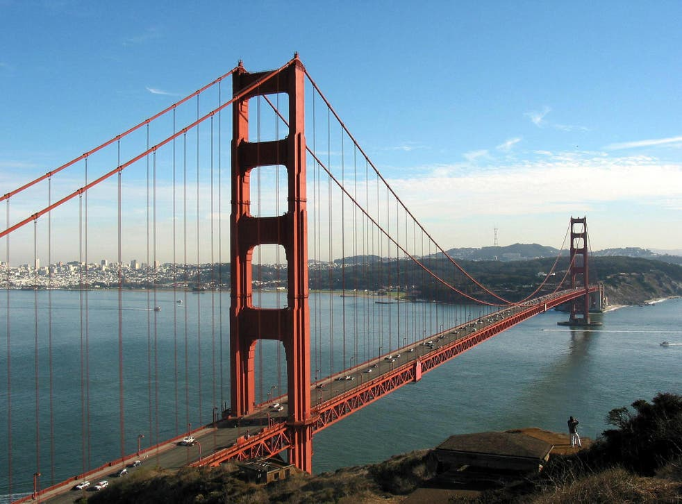 <p>Building bridges: the US is set to reopen to double vaccinated foreign nationals </p>