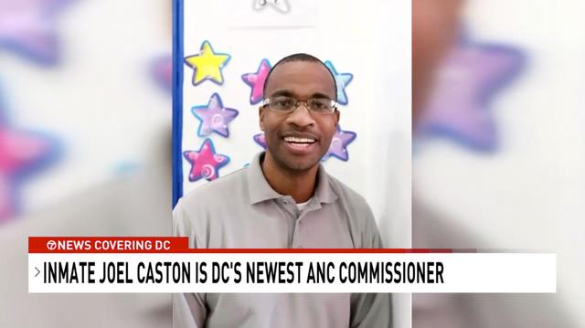 <p>El asesino condenado Joel Caston ha sido elegido para representar a un distrito de Washington, DC, incluida su prisión.</p>