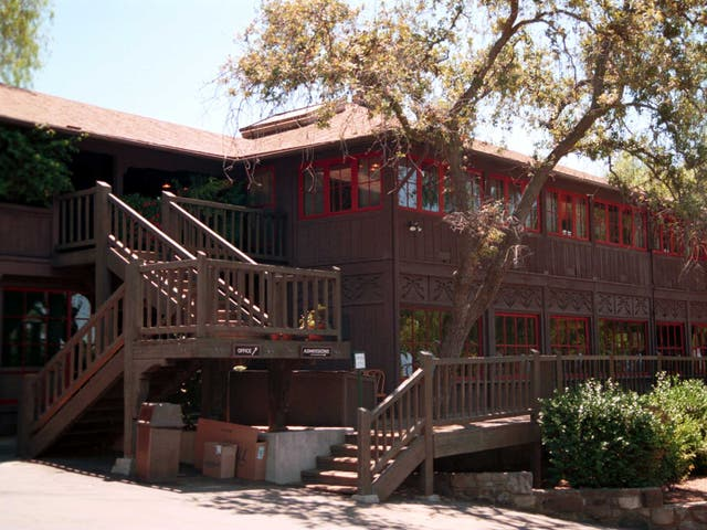 <p>The Thatcher School is seen on 21 July, 2000 in Ojai, California. </p>