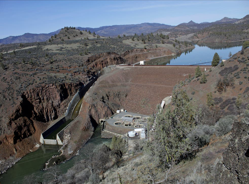Klamath Dam Removal