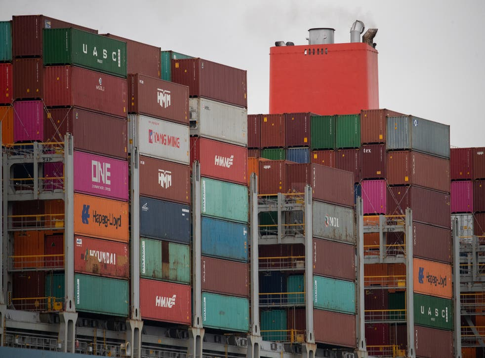 <p>Food and drink exports to the EU have collapsed </p>