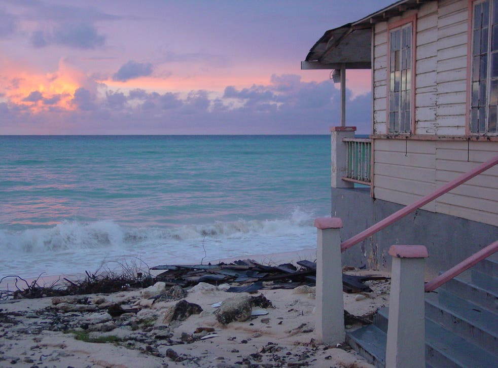 <p>Distant dream: sunrise in Barbados</p>