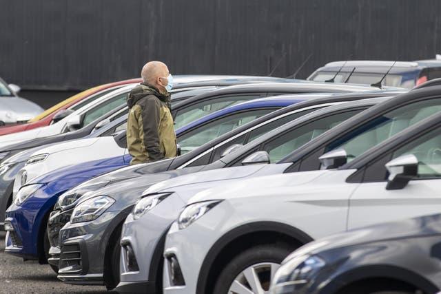 A car dealership