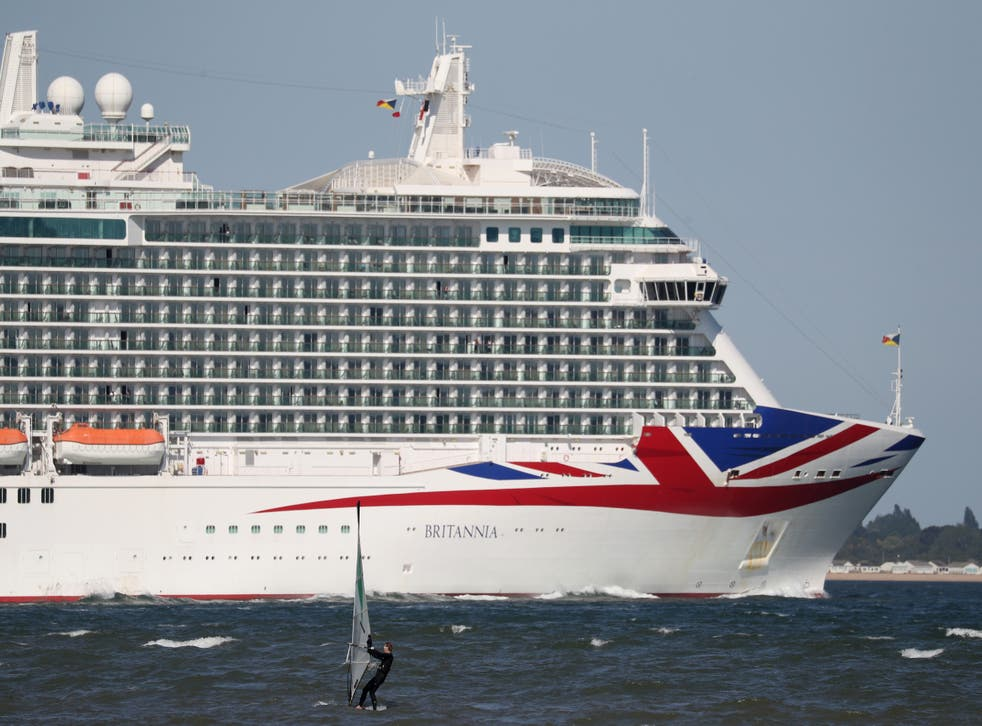 P&O's cruise ship Britannia