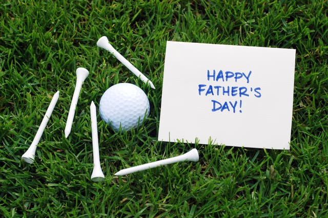 <p>There are better ways to show our love than a schmaltzy card with a drawing of a bloke playing golf on it</p>