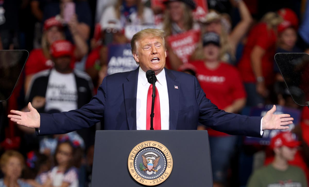Photo of Trump feared Covid numbers would doom his re-election, new book claims