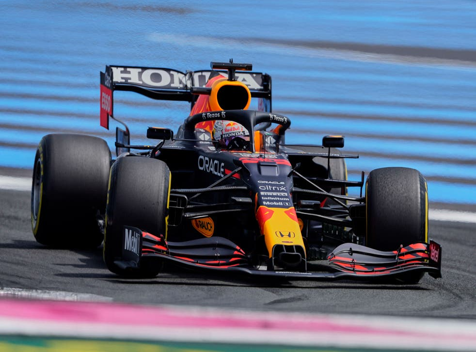 <p>Max Verstappen was fastest in practice for the French Grand Prix</p>