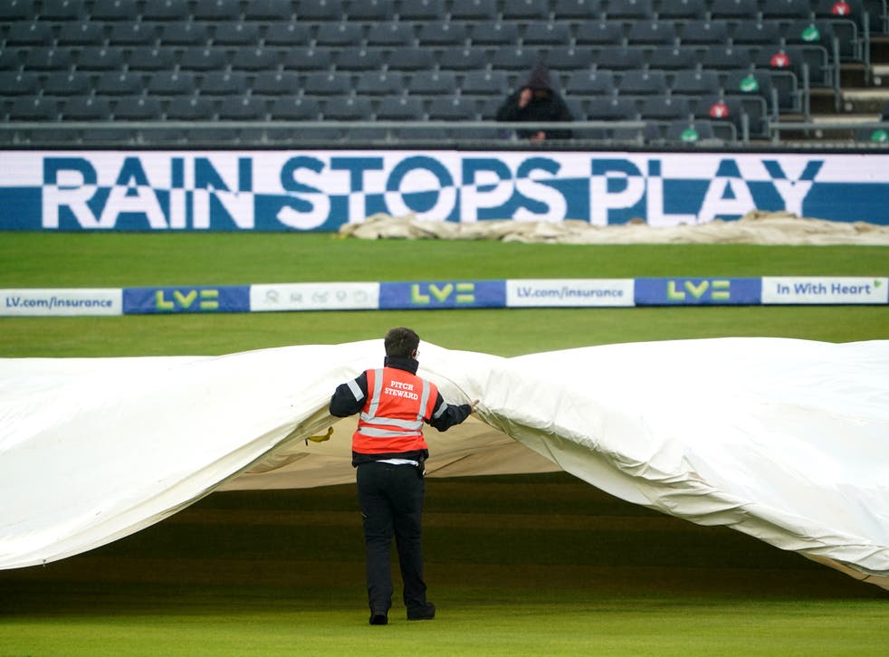 Rain brought an early halt to play on day three of England Women's Test match against India