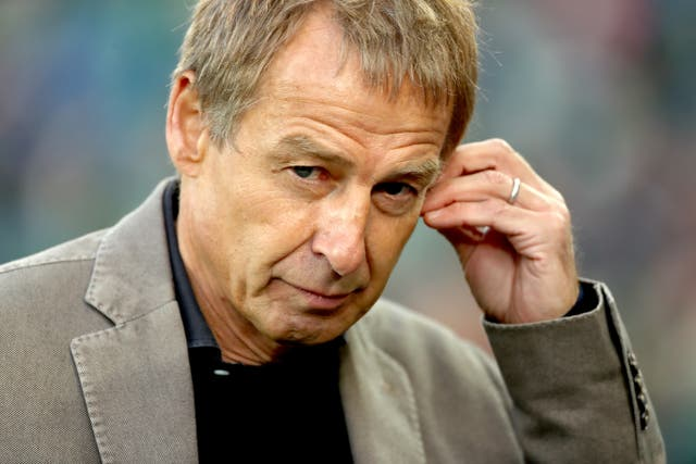 Former Tottenham striker Jurgen Klinsmann would be interested in managing in north London