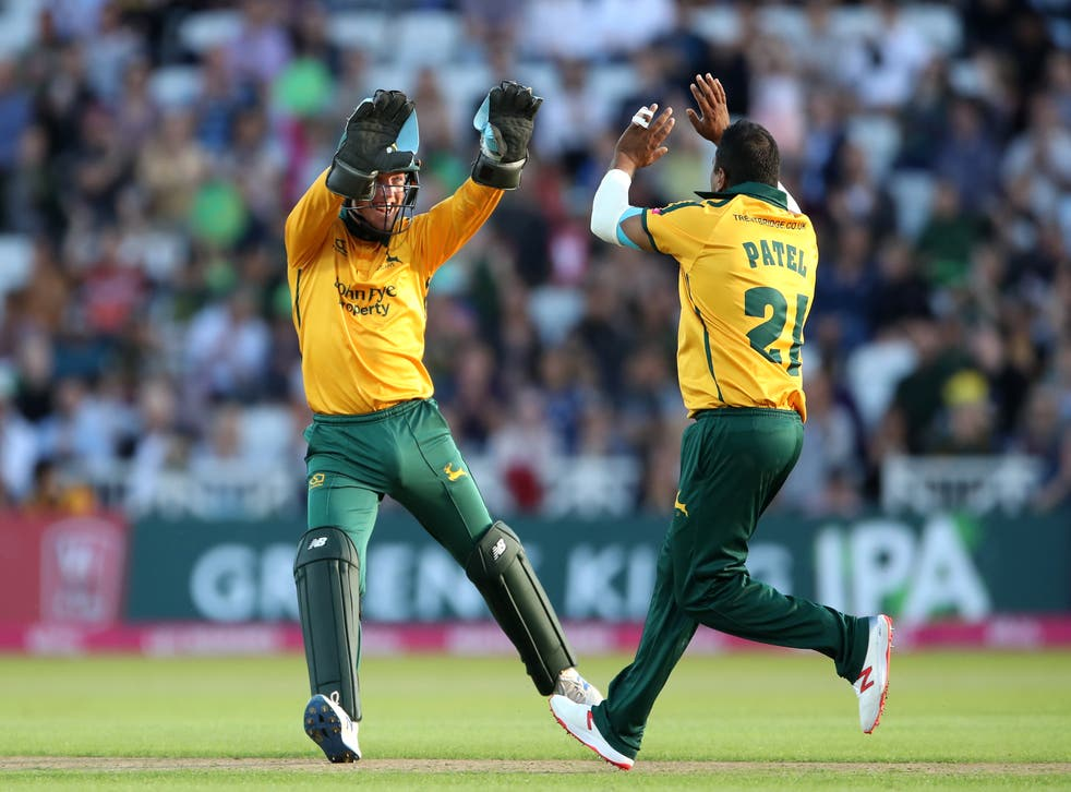 Samit Patel starred for Nottinghamshire in their victory over Derbyshire