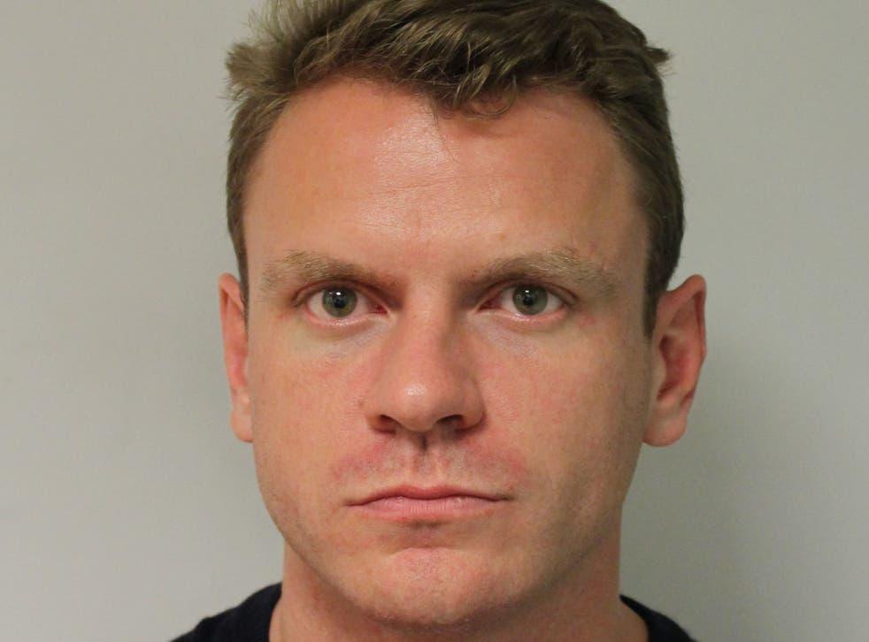 <p>Custody photo of Paul Ritchie released by Metropolitan Police</p>