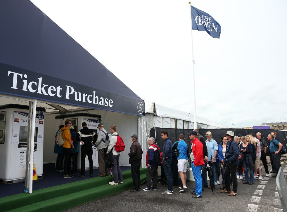 <p>Fans will be at The Open</p>