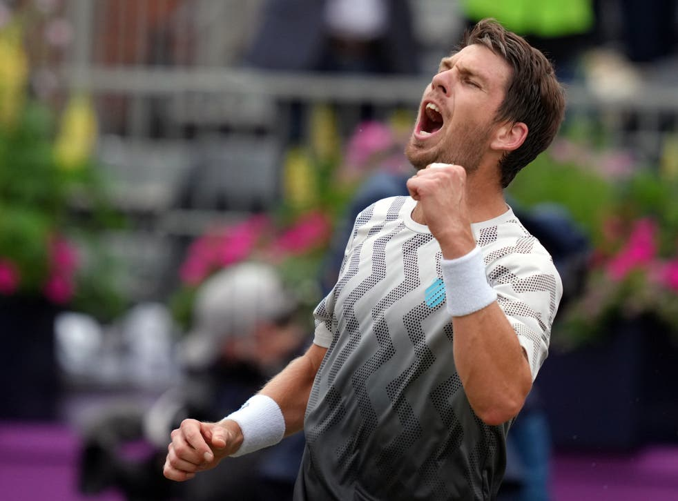 <p>Cameron Norrie is through the the final at Queen's Club</p>