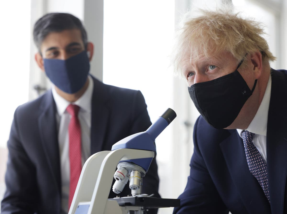 Boris Johnson news – live: PM and Sunak 'set for clash over pension' as John Bercow defects to Labour