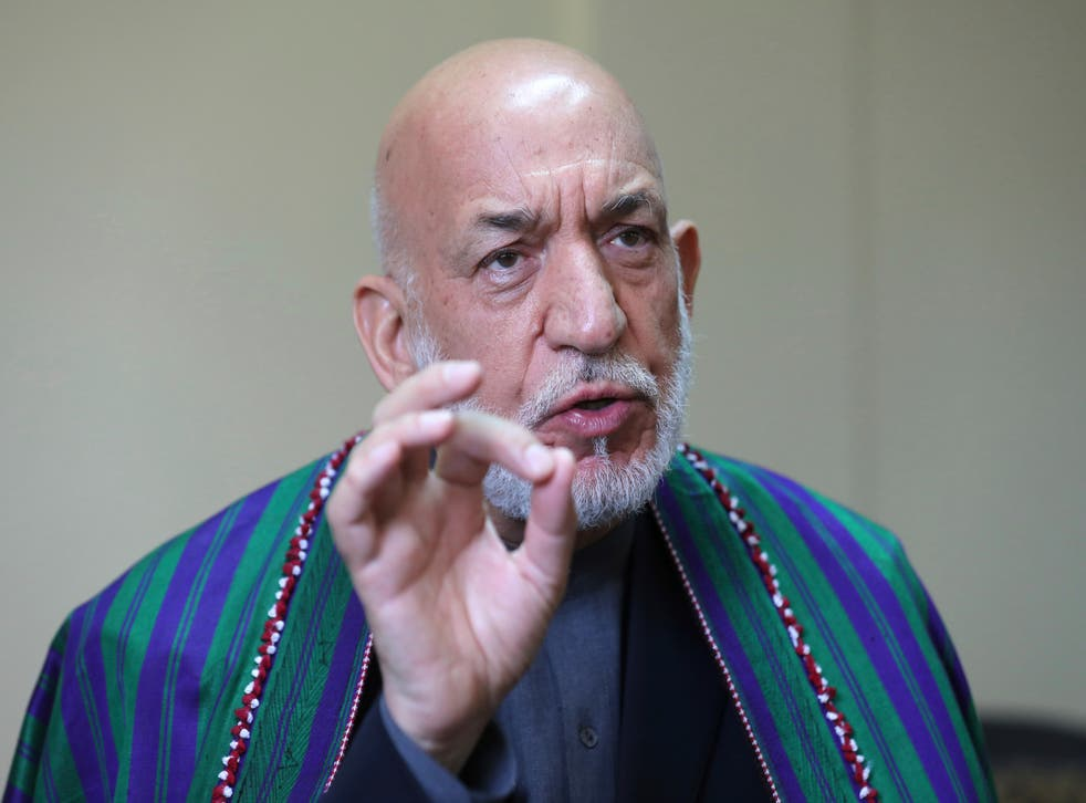 <p>Karzai was president of Afghanistan for 13 years</p>